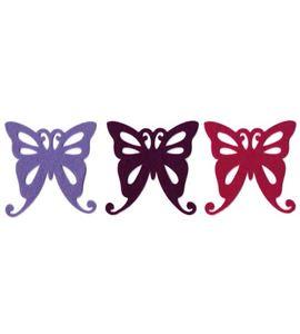 Fieltro mariposas flor - FE84A02