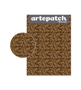 Papel de decoupage - ramas doradas - 12003057