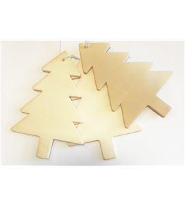 Set de siluetas de avetos de madera - 14001166