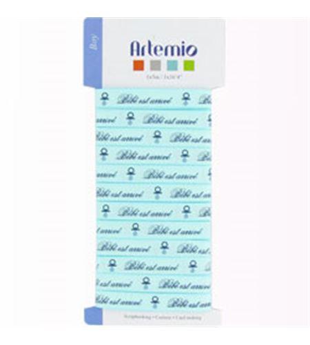 Cinta de tela para manualidades - bebé azul - 11005130