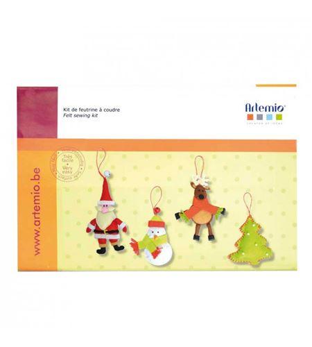 Kit de fieltro para coser - navidad - 13070059