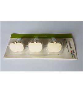 """Juego de 3 tiradores """"manzana"""" - 14001621"""