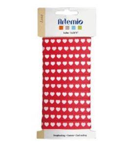 Cinta de tela para manualidades - corazones - 11005085