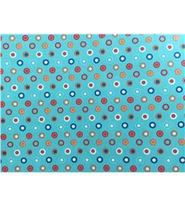 Masking tape a4 - flores de colores - 11004195