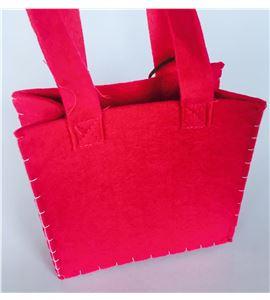 Bolsa de fieltro - rosa - FE4703