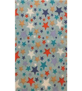 Tela de algodón - estrellas - 13062013