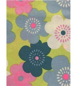 Tela de algodón - flores pastel - 13062020