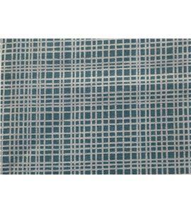 Tela de algodón - cuadro azul - 13062023