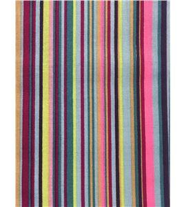 Tela de algodón - rayas multicolor morado - 13062024