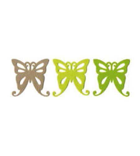Fieltro 6 mariposas natura - FE84A03