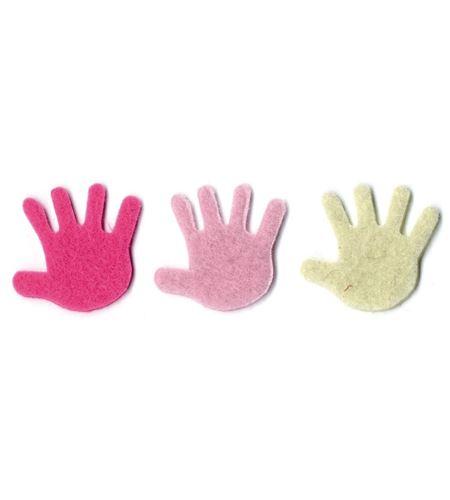 Fieltro 18 manos niña - FE113A02