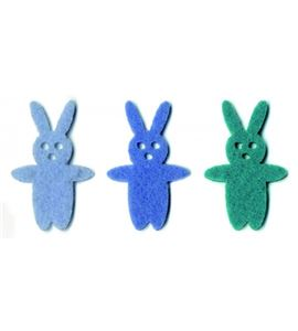 Fieltro 18 conejos niño - FE154A01