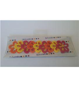Fieltro set 9 flores - FE86JOF