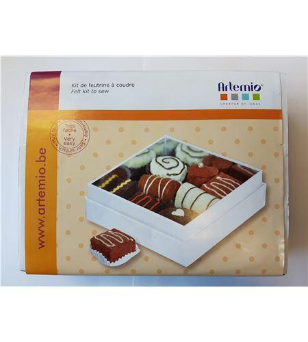 "Kit de costura ""cajita bombones"" - 13070057"