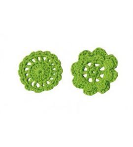 Artemio ganchillo flores verde 6 - 13080004