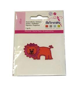 Parche bordado termoadhesivo - león alice - 13063016