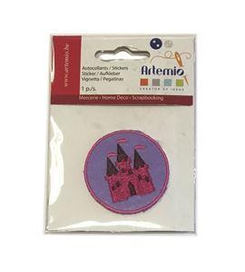 Parche adhesivo bordado - castillo - 13063046