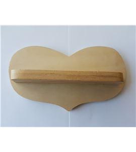 """Estanteria madera """"corazón"""" - 14001024"""