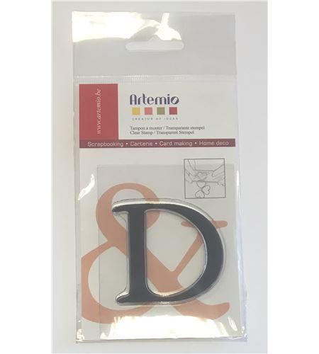 Sello de silicona - letra d - 10001110