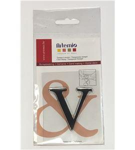 Sello de silicona - letra v - 10001128