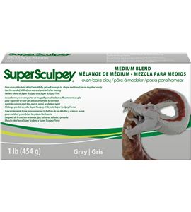 Super sculpey - medium blend 454 gr - SSMED1