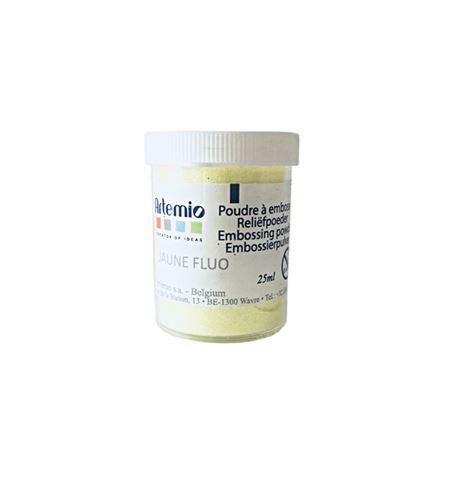 Polvo para embossing - amarillo fluor - VIPO29