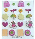Set de brads/encuadernadores - pic&lily