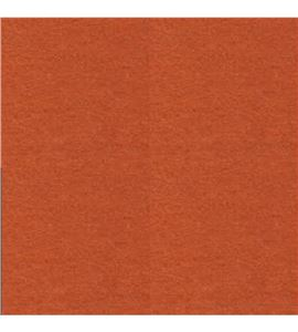 Lámina de fieltro de 30x30 - naranja teja - FE3923