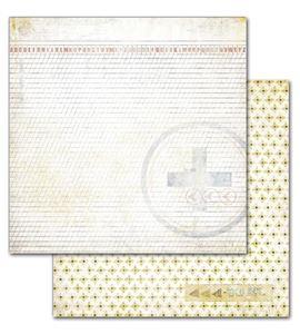 Papel de scrapbook - letter - 19421
