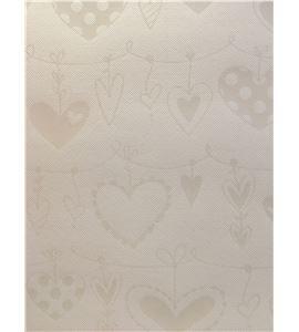 Papel de scrapbook - bazzill glazed lily white - 11303728