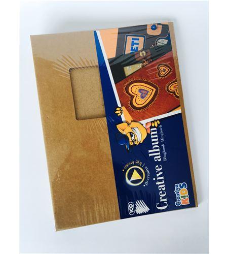 Álbum scrapbook kraft - window - 7470178000