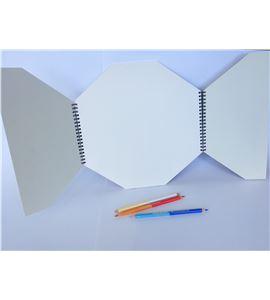 Álbum scrapbook 30x30 - octogonal - 7520022003