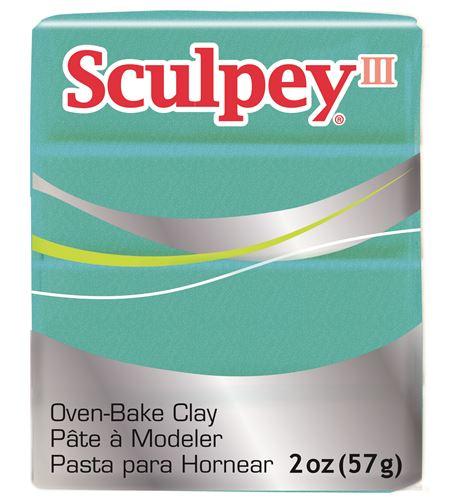 Sculpey iii - teal pearl 57gr. - 3538