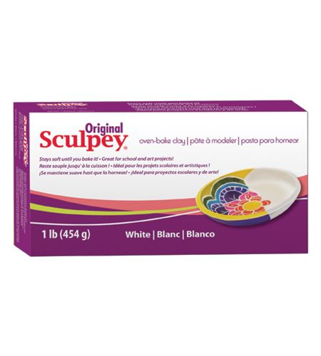 Original sculpey - blanco 454 gr. - S01