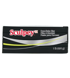 Sculpey iii - black 454gr. - 31042