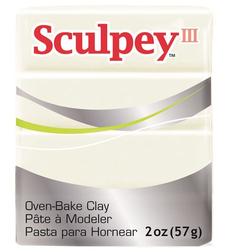 Sculpey iii - pearl 57gr. - 31101