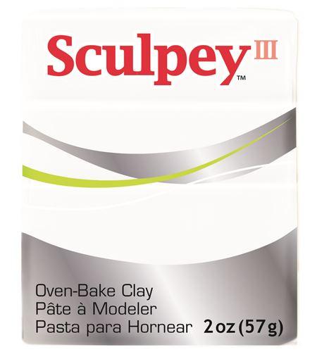 Sculpey iii - white 57gr. - 3001