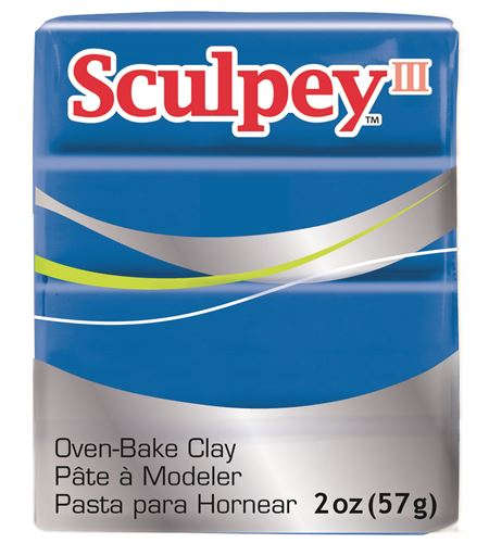 Sculpey iii - blue 57gr. - 3063