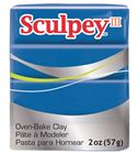 Sculpey iii - blue 57gr.