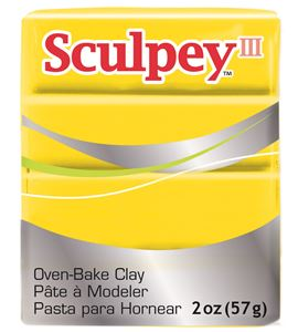 Sculpey iii - yellow 57gr. - 3072