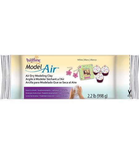 Arcilla polimérica model air - blanco 998 gr. - AD2222