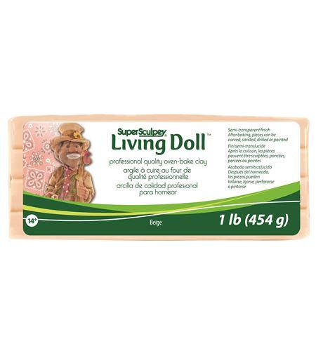 Super sculpey - living doll beige - ZSLD1