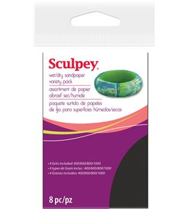Material auxiliar sculpey - wet/dry sandpaper - AS2010