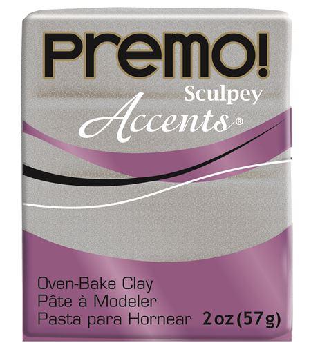 Premo accents - white gold glitter 57gr - 5132