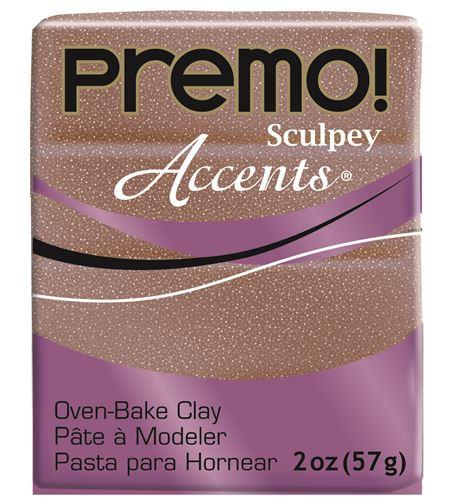 Premo accents - rose gold glitter 57gr. - 5135