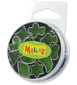 Cortador makin´s - caja metálica mini geo 12 pc. - 37004
