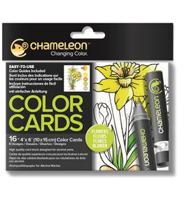 Color cards - flowers - CC0102