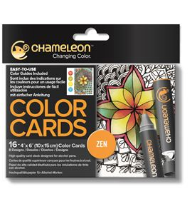 Color cards - zen - CC0103