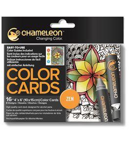 Color cards - zen - CC0103