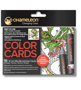 Color cards - tattoo - CC0104